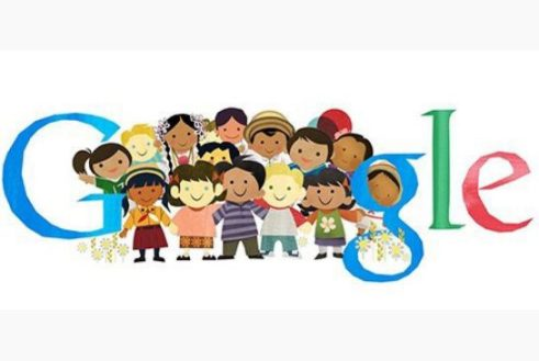 Google Doodle to celebrate Universal Children's Day