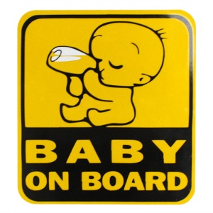 Baby on board from