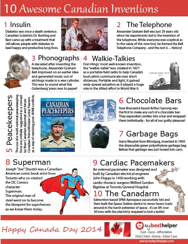Mbh canada day infographic